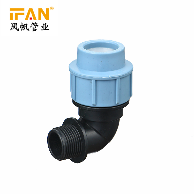 HDPE Male Elbow for PE Pipes