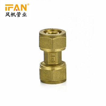 China Factory Competitive Price Yellow Color Available Size Plumbing Materials Male Socket Brass Fitting
