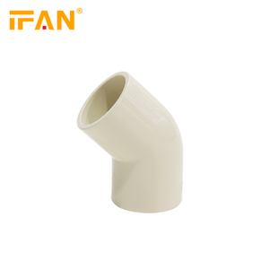 45 Degree Elbow CPVC Pipes Fitting Astm2846 for Hot Water