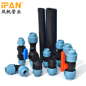 MDPE Compression Fitting
