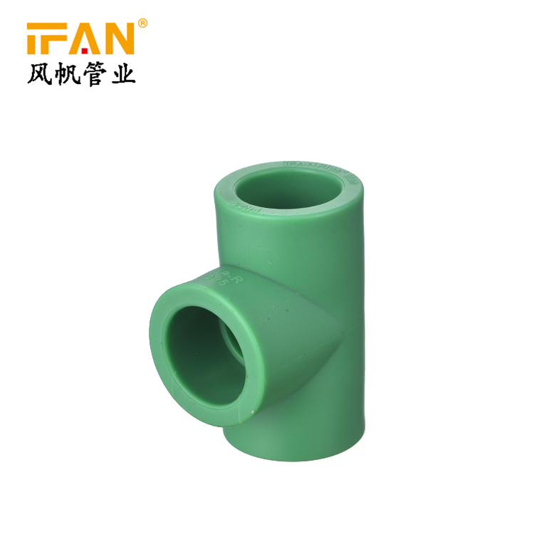 IFANPlus Tee PPR Equal Tee Plastic Tee for PPR Pipe