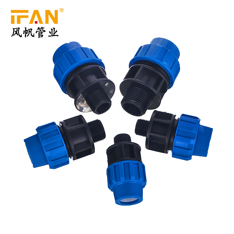 602 HDPE Blue Male Socket