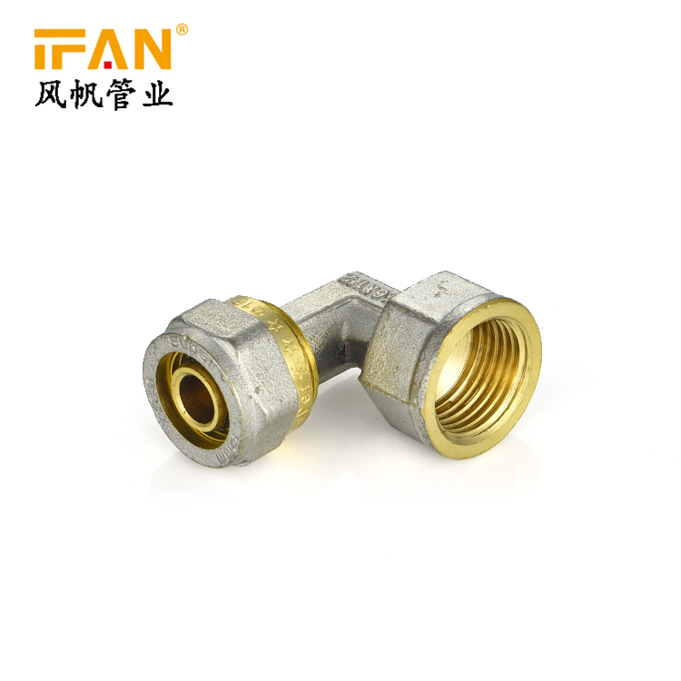 Pex Brass Fitting Female Elbow