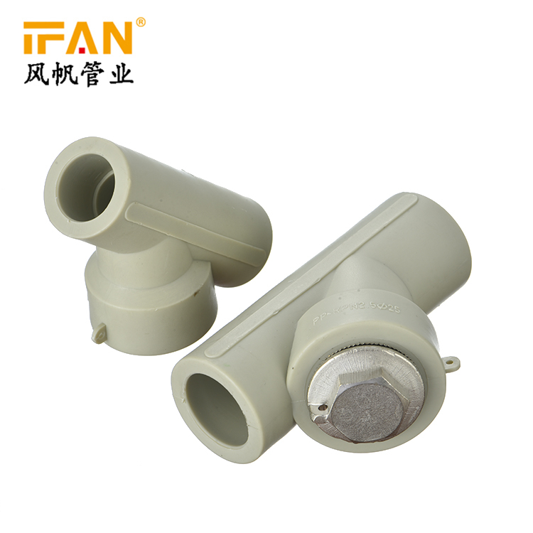 PPR Filter Pipe Fitting IFAN manufacturing factory price plastic tube pipe and fitting green color water