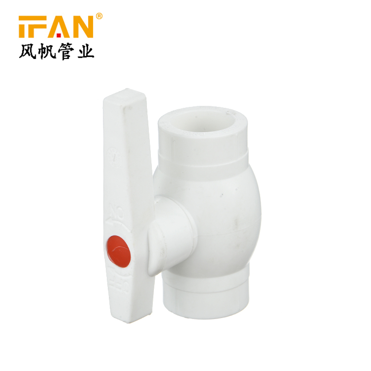 PPR Brass Ball Valve Color PPR Fitting Brass Valve