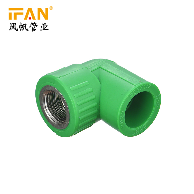 Plumbing pipe and fitting price list of pipe ppr pipe fitting female elbow