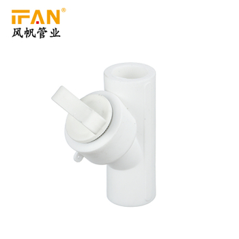 PPR Filter with plastic nut White Color PPR Fitting Filter