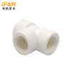 Equal Tee PVC Thread Fitting BS Standard