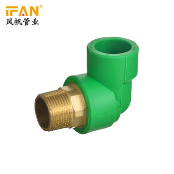 "IFANPlus 1"" Male Elbow PPR Fittings 90 Degree Elbow"